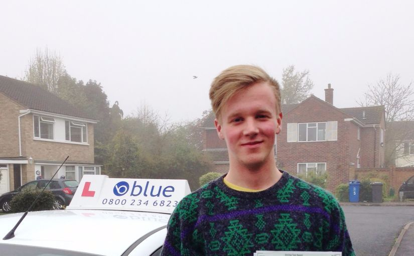 Well done to Peter of Windsor, Berkshire who passed his driving test this morning in Slough
