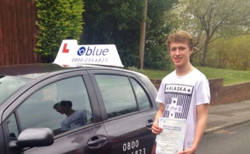 Congratulations Charlie of Ascot, Berkshire on passing your driving test