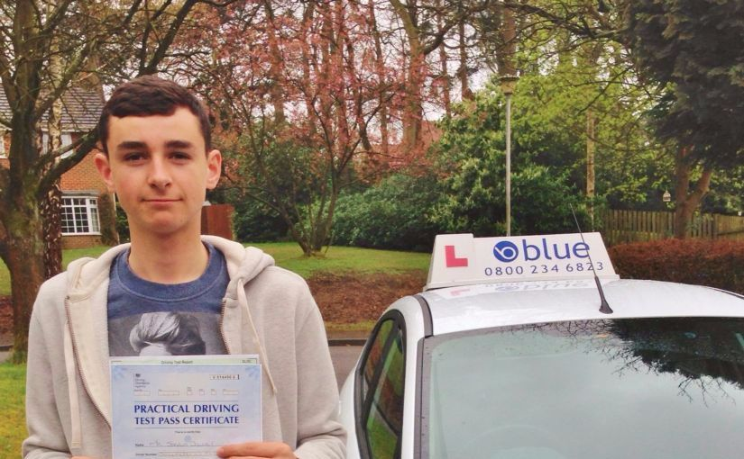 Great result for Josh Downey from Ascot, Berkshire who passed his driving test on his Firtst attempting Slough