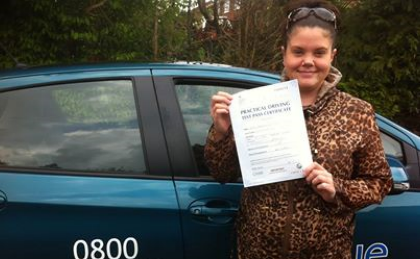 Great result for Georgina Lavender with a first time pass in her practical test today in Reading