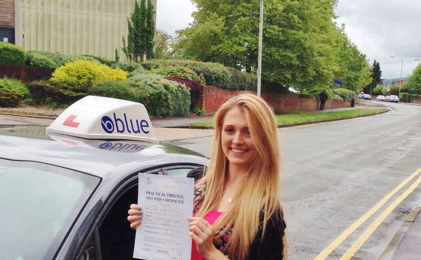 Brilliant result for Beth of Bracknell, passed her driving test First Time in Reading