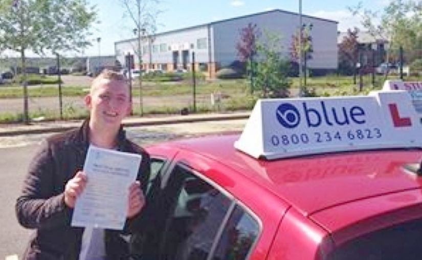 Well done Thomas from Bracknell on passing your driving test at Your First