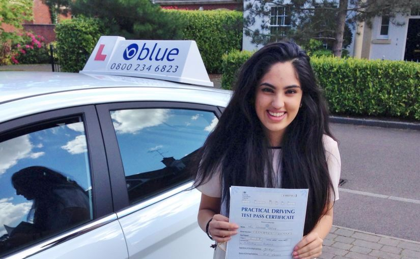 Great result for Natasha of Ascot, Berkshire who passed her driving test in Slough