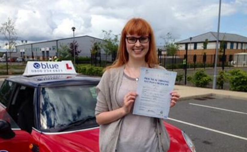 Congratulation to Emily who passed her driving test at Farnborough