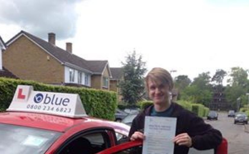 Congratulations to Elliott Cronin on passing your driving test in Chertsey