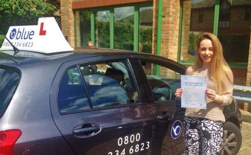 Great result for Georgina of Ascot, Berkshire who passed her driving test today