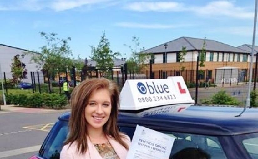 Congratulation to Nicole Toms who passed her test at Farnborough test centre today
