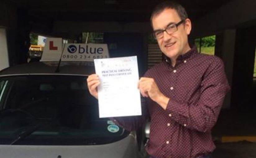 Huge congratulations to Neil Morgan from Harmans Water for passing his driving test