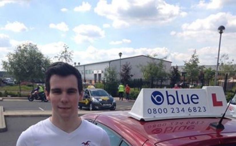 Outstanding Luke Elliott from Bracknell on passing your driving test