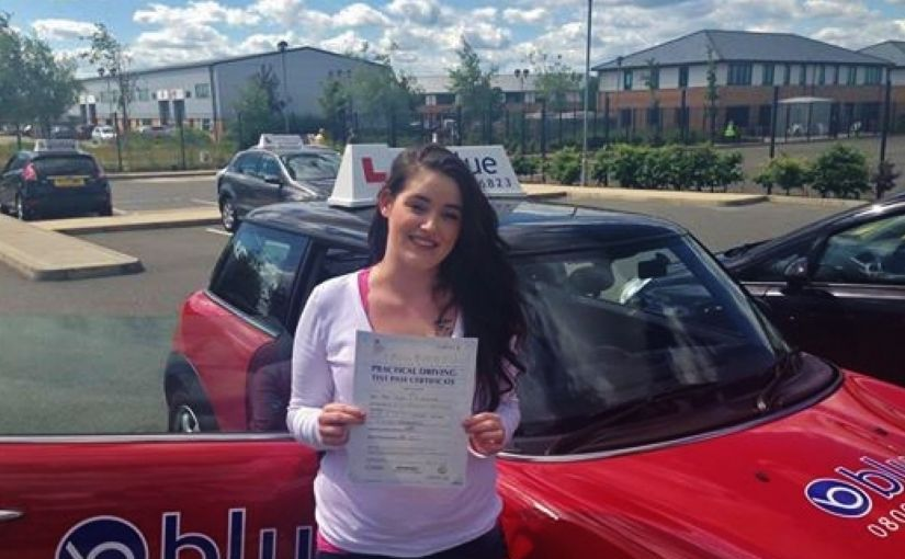 Congratulation to Jayde who passed her driving test first time at Farnborough