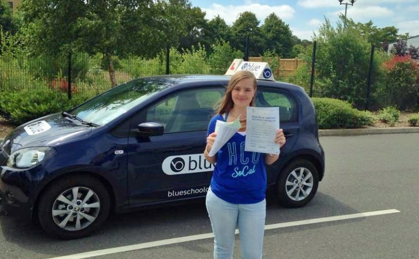 Charlotte Bruce from Winkfield passed at Farnborough with just one fault