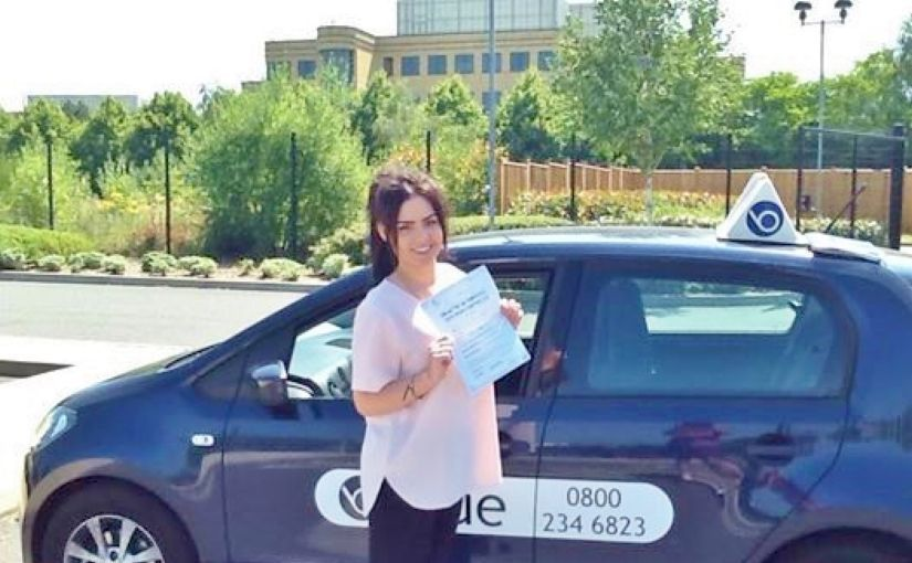 Well done Millie Holden on passing your driving test at Farnborough today.