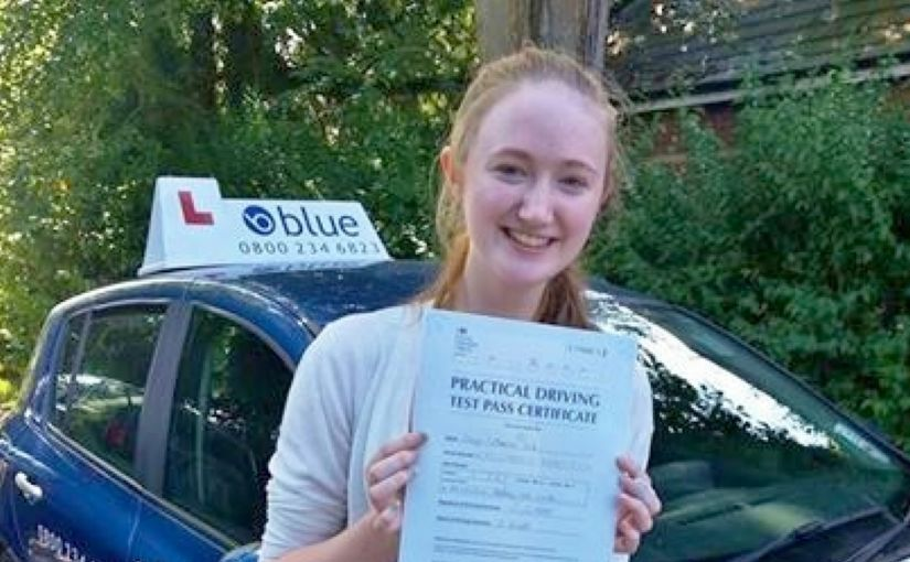 Congratulations to Freya Gale from Caversham who passed her test at Reading