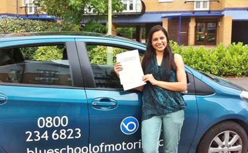 Congratulations to Neha Tak on passing today in Reading
