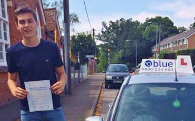 Congratulations to Jake Pooley from north ascot for passing his driving test today in Chertsey with only a few minors.