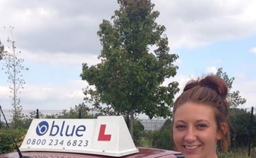 Well done Hollie Houston from Bracknell on passing your Driving Test today in Farnborough