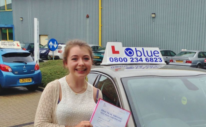 Brilliant result for Ellie Magill of Ascot, Berkshire who passed her driving test Today