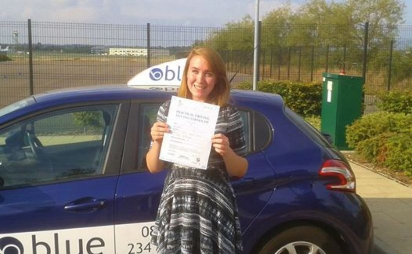 Congratulations to Kerry of Aldershot who passed her driving test first time in Farnborough