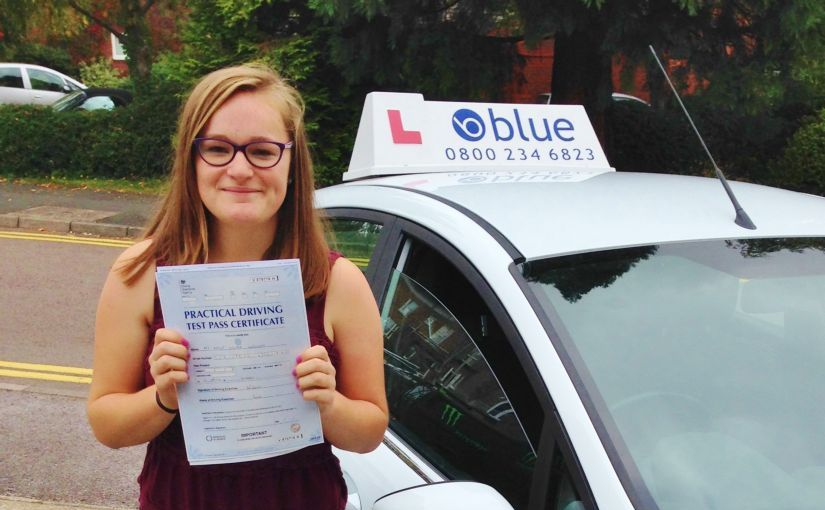 Great result for Daisy who passed her driving test in Slough