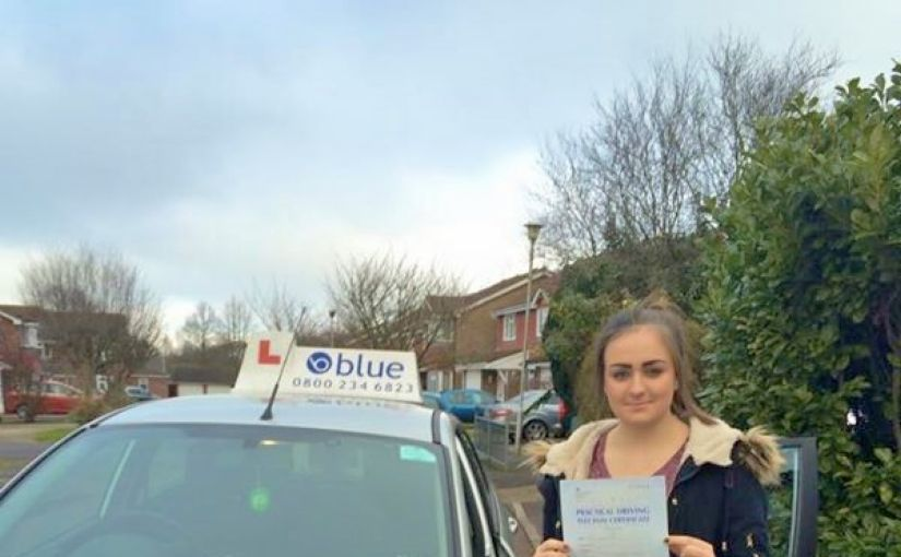 Congratulations to Hannah from Bracknell for passing her driving test
