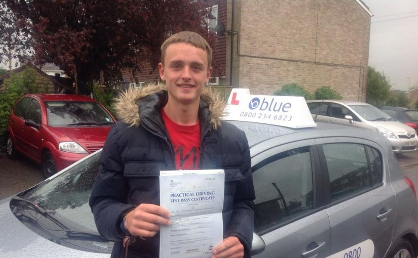 Big congrats to Alex Williams today on passing in Farnborough