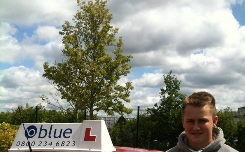 Absolutely Outstanding Jake Findley from Bracknell on passing your driving test in Farnborough at your FIRST ATTEMPT ZERO FAULTS