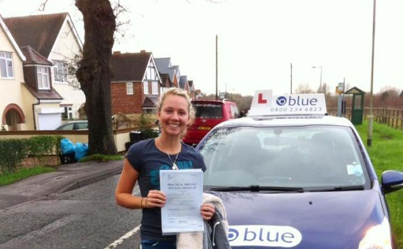 Huge congratulations to Hannah Brett from Wokingham, Berkshire on passing her test today at Reading, Berkshire