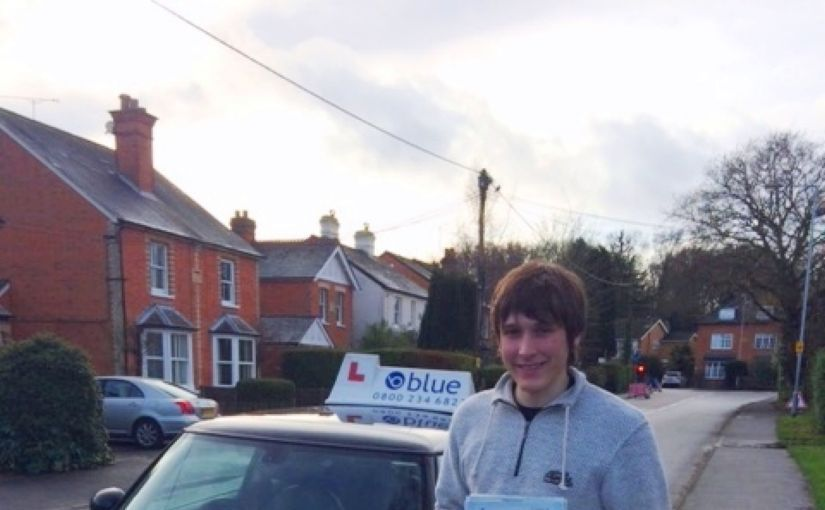 Ollie Walker from Ascot on passing your driving