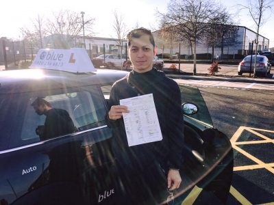 Driving Test for Ace Pittapan from Farnborough