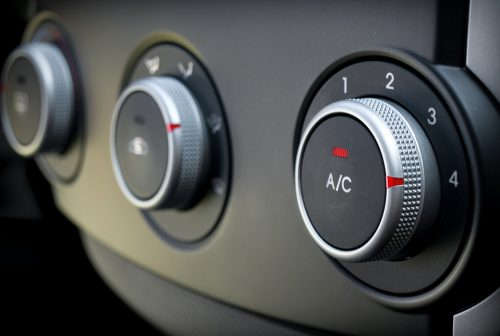 Air conditioning cars