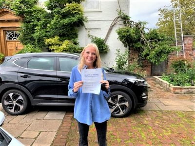 Alex King of Datchet Berkshire Pass Driving Test