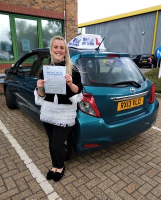 Amber Levitt from Bracknell Passed Driving Test