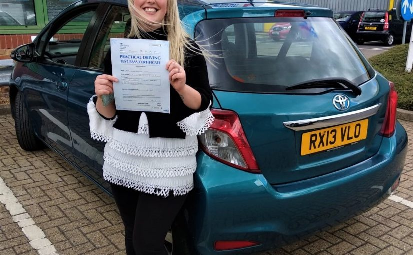 Amber Levitt from Bracknell passed her test