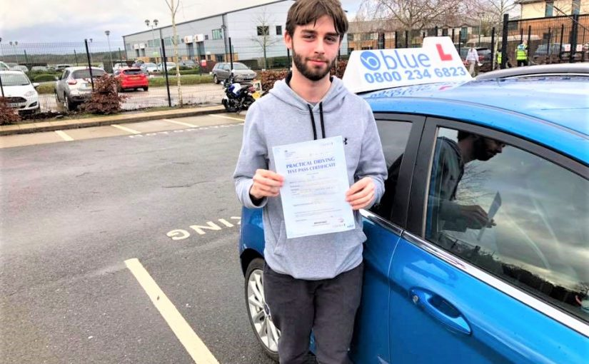 Anthony Passed Driving Test in Farnborough