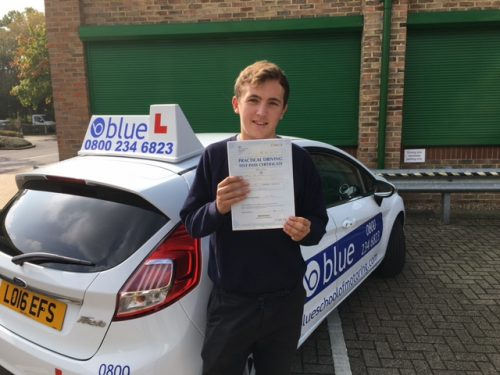 Ascot Driving Lessons for Dan Fenton