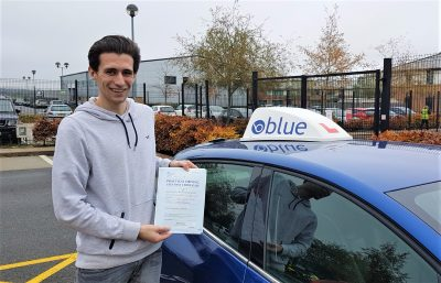 Ascot Driving Lessons for Edward Blackmoore