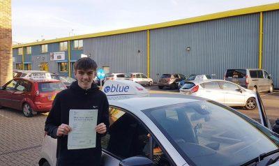 Ascot Driving Test Pass Josh Betts