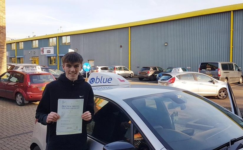 Great result, for Josh Betts of Ascot, who passed his driving test First Time