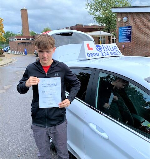 Ascot Driving Test pass for Dom Fenton