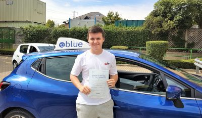 Ascot Driving Test Pass for Harry Parkyn
