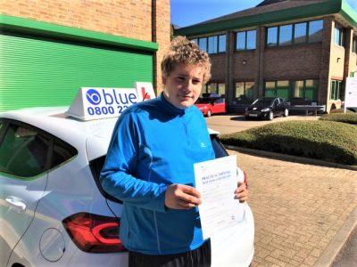 Ascot Driving Test Pass for Thomas Mulvihill