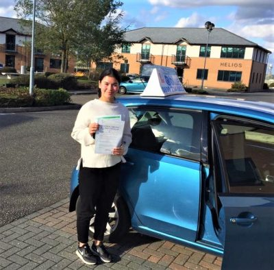 Ascot Driving Test pass for Izzy Holmes