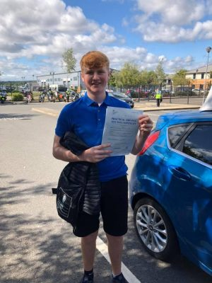 Automatic Farnborough Driving Test pass for Casey