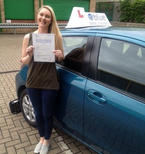 Bracknell Driving Lessons for Abigail May Croucher