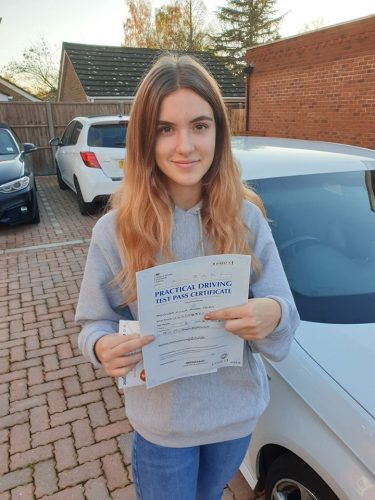 Bracknell Driving Lessons for Ella Herd
