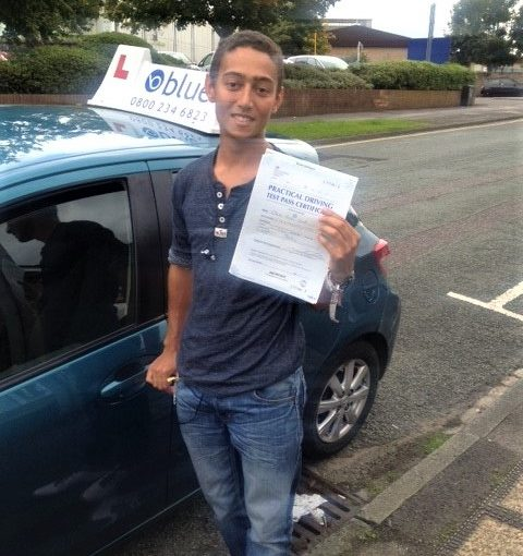 Great result for Oliver Grant who passed his test in Reading, Berkshire