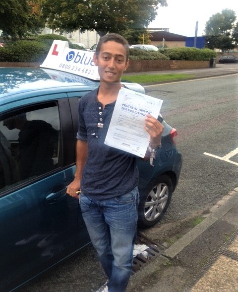 Bracknell Driving Lessons for Oliver Grant