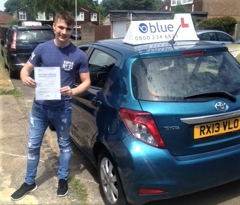 Result for Regan Cullip from Bracknell who passed his driving test