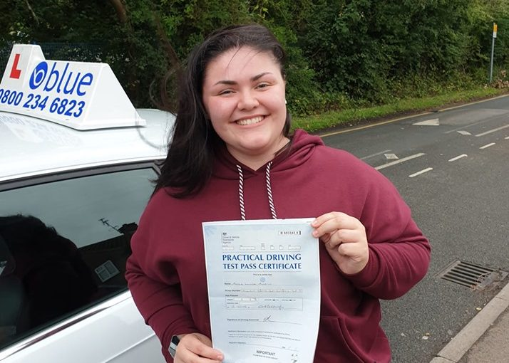 Bracknell Driving Test Pass for Maisie Austin