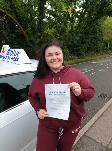 Bracknell Driving Test Pass Maisie Austin